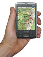 Naturpark-Scout auf dem Handy