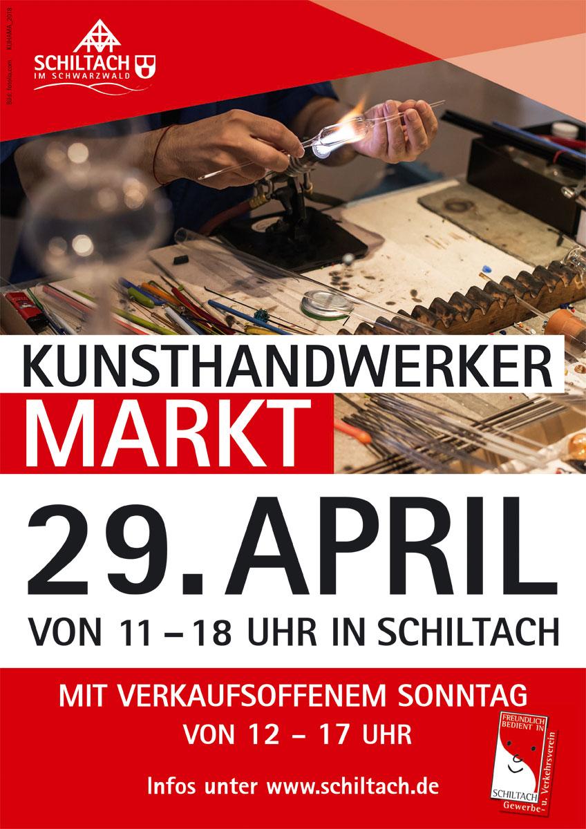 Kunsthandwerk-Plakat