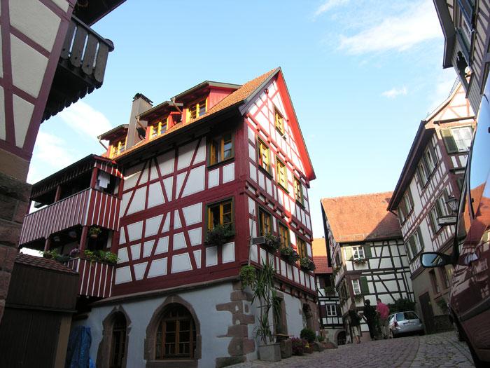 Historische Fachwerkhäuser
