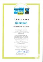 Fairtrade-Urkunde