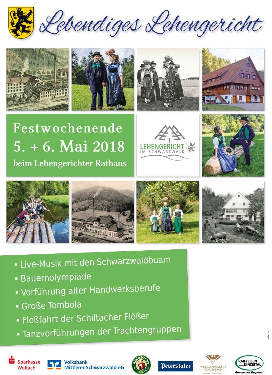 Lehengerichtfest-Plakat