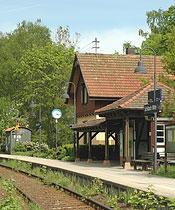 Bahnhofshäuschen