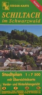 Seeger-Karte: Stadtplan Schiltach
