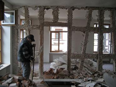 Umbauarbeiten im Rathaus