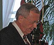 Peter Rottenburger bei seiner Begrüßung