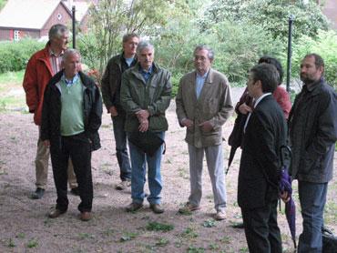 Schiltacher Gemeinderäte im Stadtgarten