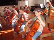 Musikschule-Cellisten