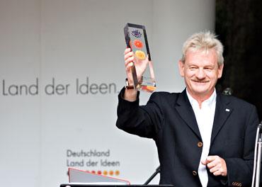 Siegfried Gänßlen bei der Preisübergabe