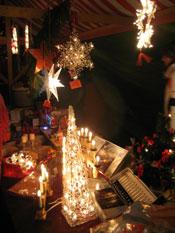 Weihnachtliches Angebot beim Schiltacher Advent