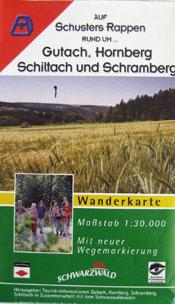 Wanderkarte: Auf Schuster's Rappen