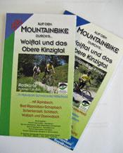 Auf dem Mountainbike...