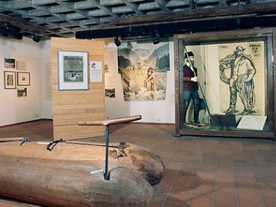 Ausstellungsraum in der Schüttesöge