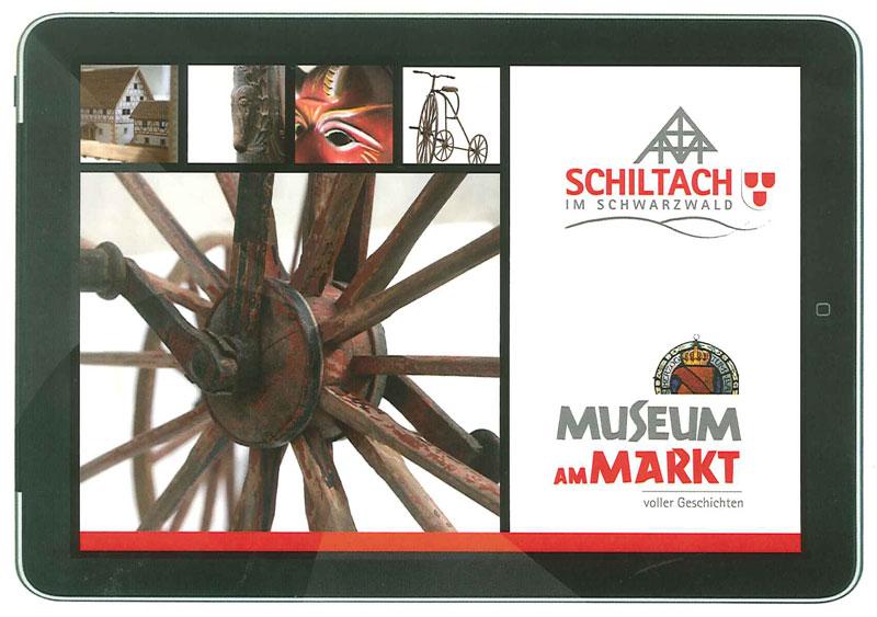 Museum am Markt auf einem iPad