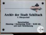 Öffnungszeiten des Stadtarchivs