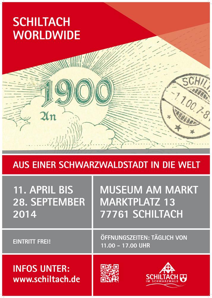 Plakat Schiltach Worldwide