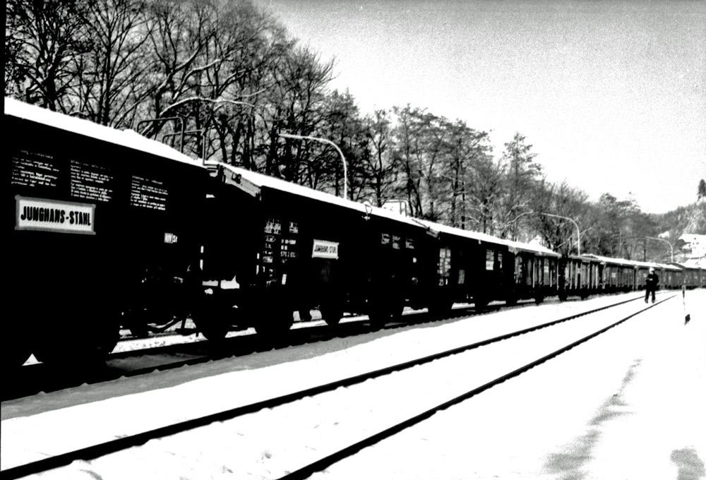 Güterwaggon für Jungshans Stahl