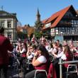 Die Stadt- und Feuerwehrkapelle Schiltach unter der Leitung von MD Ralf Vosseler