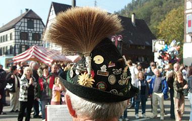 Hut mit Gamsbart