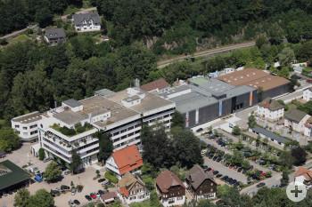 Luftbild Werk Aue 2008