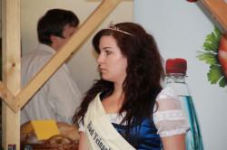 Die Bad Teinacher Wasserkönigin Stefanie Friederich war auch vor Ort