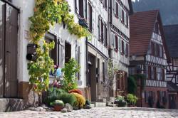 Detailaufnahme Fachwerkhäuser Schiltach