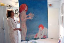 Geöffnetes Atelier von Karla Kreh