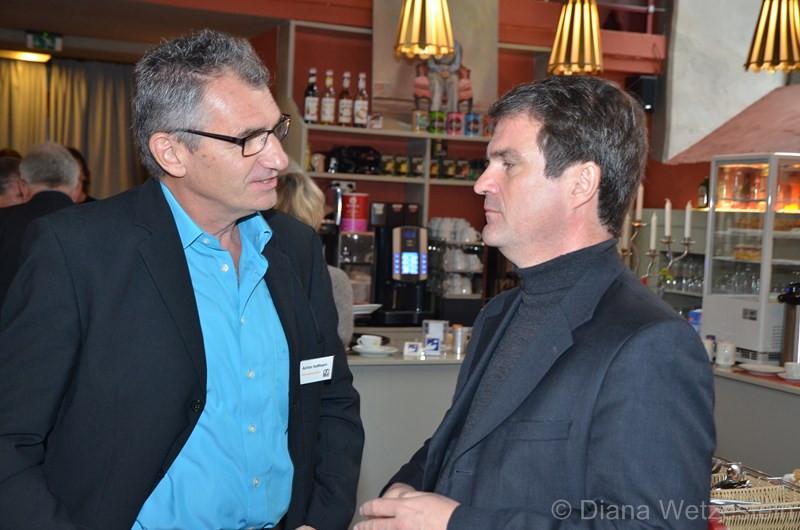 Achim Hoffman im Gespräch mit Dr. Ulrich Ferber