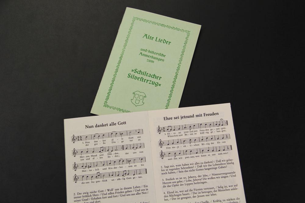 Liederbuch-Silvesterzug