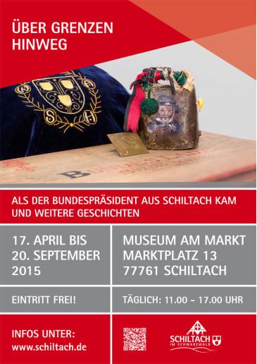 Plakat Schiltach Ueber Grenzen hinweg low
