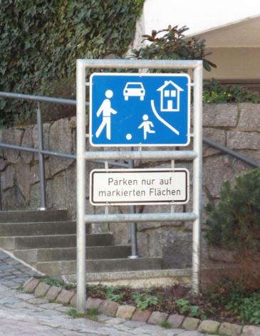 Verkehrsberuhigter-Bereich