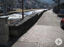 So sieht die Bachmauer heute aus