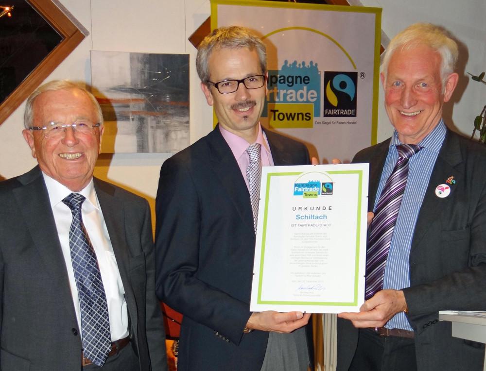 Fairtrade Verleihung