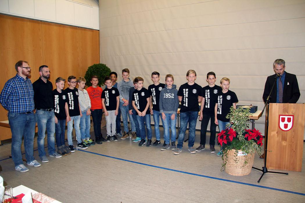 Die D-Junioren der Spvgg Schiltach...