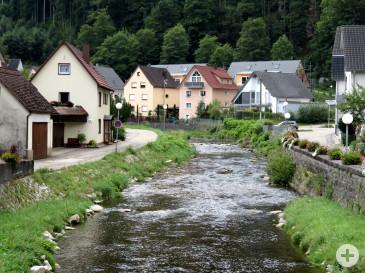 Hochwasserschutzmaßnahmen an der Schiltach