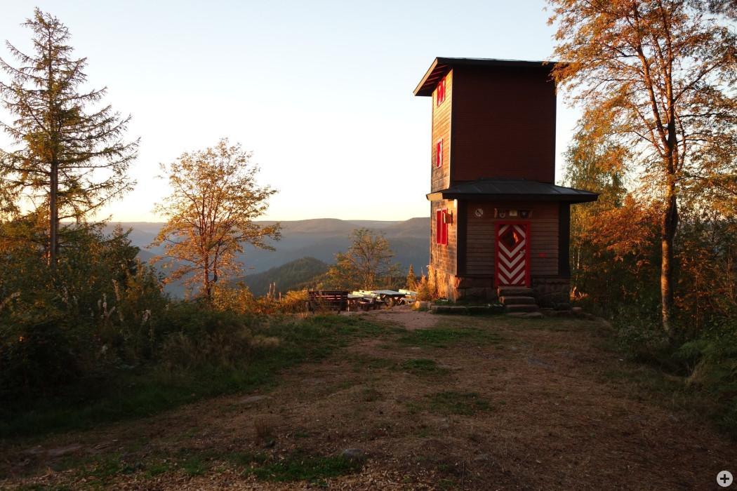Morgenstimmung Theisenkopfturm