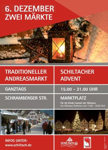 Andreasmarkt und Schiltacher Advent