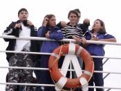 Hauptschüler als Kapitäne