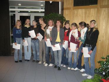 B-Jugendmannschaft der SG Schenkenzell/Schiltach