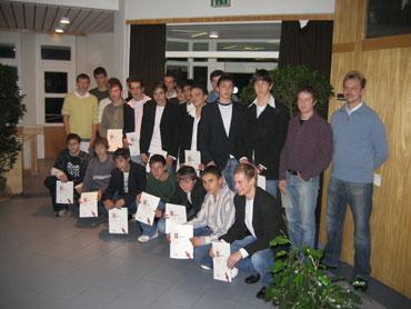 B-Jugendmannschaft der Spvgg