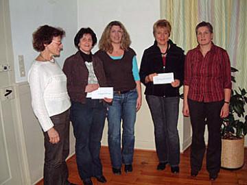 Spendenübergabe der Landfrauen