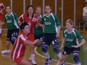 Handballerinnen in Zwickau