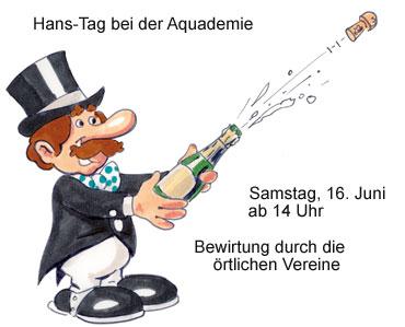 Feiern Sie mit Hans