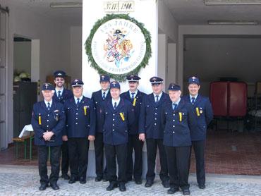 Die Schiltacher Feuerwehr in Geising