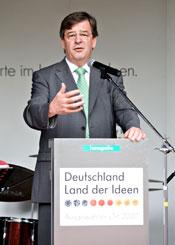 Staatsminister Willi Stächele