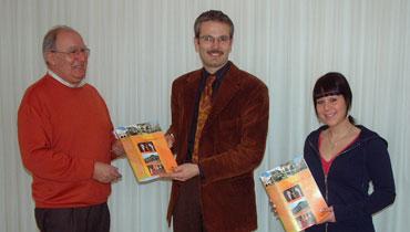 Rolf Rombach, Bürgermeister Thomas Haas und Carmen Stegerer (v.l.n.r.)