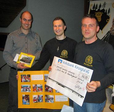 Axel Rombach, Stephan Hubrich und Uli Esslinger (v.l.n.r.)
