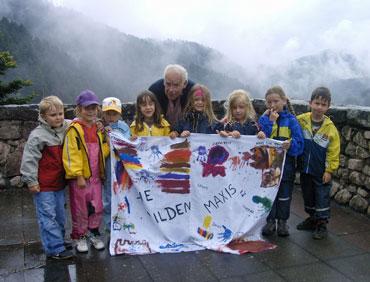 Die Schulanfänger mit Werner Dold