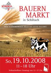 Plakat Bauernmarkt 2008