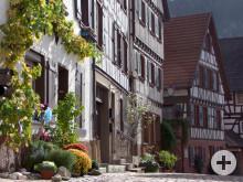 Fachwerkgäschen in Schiltach