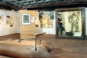 Ausstellungsraum Schüttesägemuseum